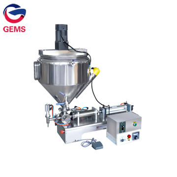 Manual Hot Sauce Filling Machine