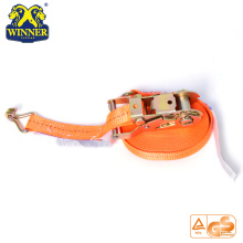 High Quality for  Ratchet Tie Down Straps And Cargo Lashing Belt With Hooks supply to Iceland Importers