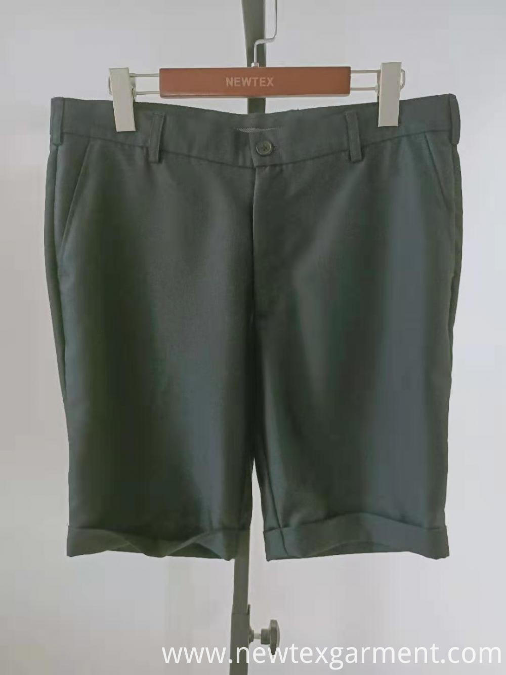 solid grey mens shorts