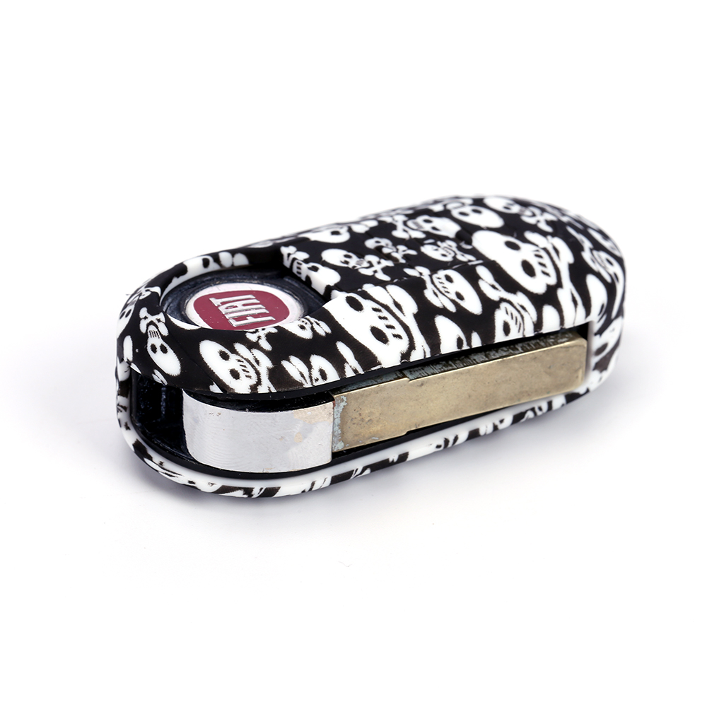 fiat 500 car key case