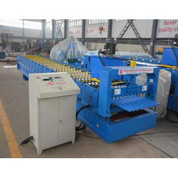 Roof Panel Corrugated Color Steel Roll Forming Machine
