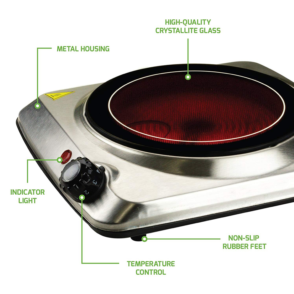 Stainless Steel Portable Electric Stove