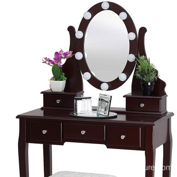 Glass Dressing Table European Dressing Table