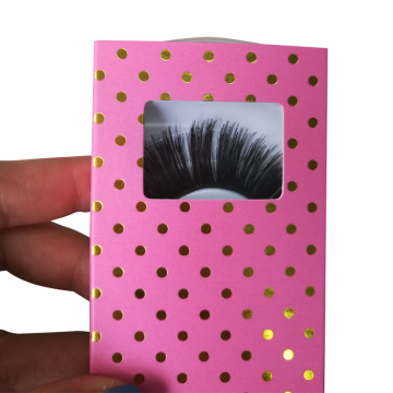 Luxury Customized False Eyelashes Paper Box