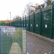 Powder Coated 358 Anti Climb High Security Fence