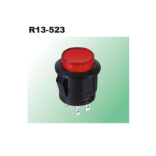 SPST Circuit LED Illuminated Push Button Switch