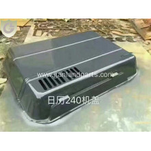 Hitachi EX240 Excavator Engine Hood  Aftermarket