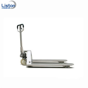 5000kg Hand Power Stainless Steel Pallet Truck