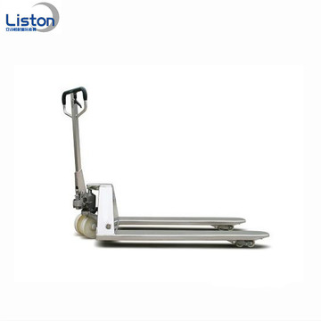 Stainless steel Hydraulic paper roll lifter pallet truck