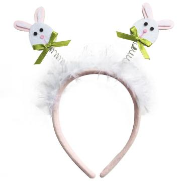 Easter bunny shape headband decorations