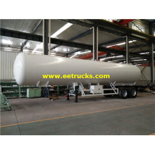 45m3 LPG Delivery Semi Trailers