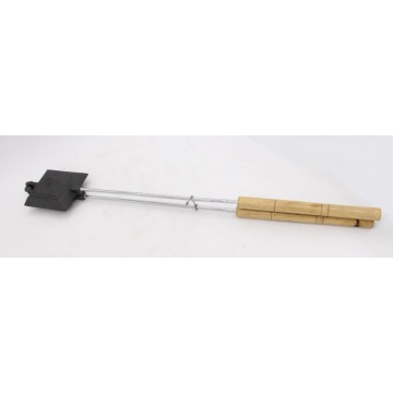 Square Jaffle Iron With Wood Handle