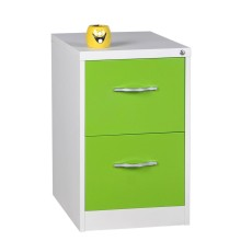 China New Product for China Vertical File Cabinet,Vertical Filing Cabinet,A4 Filing Cabinet Supplier Green 2 Drawer File Cabinet supply to New Caledonia Wholesale