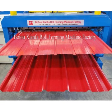 Botou Xianfa Double Sheet Roll Forming Machine