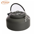 1.4L Anodised aluminum Outdoor BBQ kettle tea pot