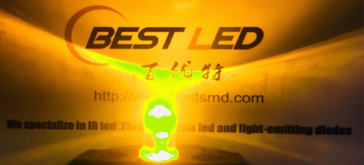 1.8mm yellow led