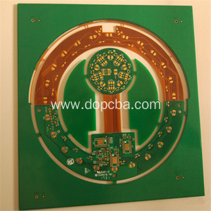 Four Layer Rigid Flex PCB Circuits Board