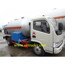 ODM for LPG Transport Tankers 8 CBM 4 MT LPG Delivery Trucks supply to Cambodia Suppliers