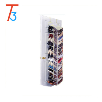 30-Pocket Organizer Bag Clear PVC fabric Hanging Shoe Organizer