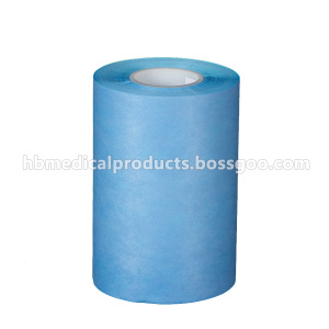 China New Product for PE Laminated Viscose Blue PE Laminated  absorbant nonwoven supply to Malta Wholesale