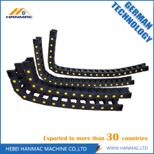 OEM manufacturer custom for Engineering Cable Drag Chain Open Both Side Plastic Drag Chain High Tenacity supply to Cayman Islands Manufacturer