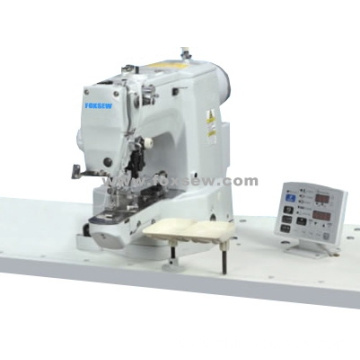 Electronic Shank Button Attaching Sewing Machine