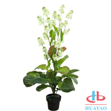 Potted 40cm high artificial plant for decor