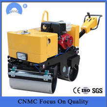 Mini Double Drum Walking Đằng sau Vibratory Road Roller