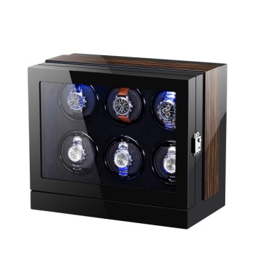 Mulit Rotor Silent Wooden Automatic Watch Winder