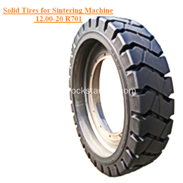 Solid Tires for Sintering Machine 12.00-20 R701