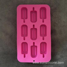 Multi-functional creative silicone ice box cake mold