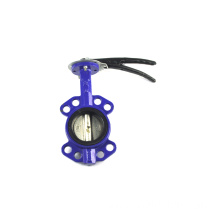 Wanted 4 in stainless steel wafer connection iso 5211 butterfly valve oil resistance