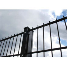 pvc coated double wire fence