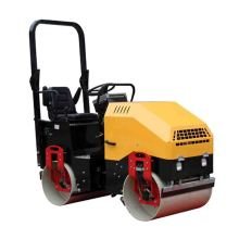 Double Drum Mini Vibrating Asphalt Roller For Road
