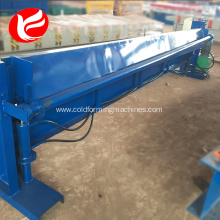 Hydraulic metal sheet shear machine plate shearing machine