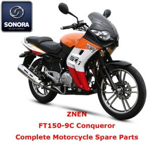 ZNEN FT150-9C Conqueror Complete Motorcycle Spare Part