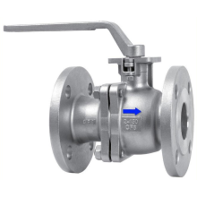 Most Popular Manual Stainless Steel Flanged Ball Valve