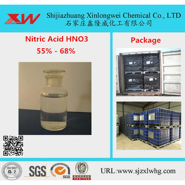 Liquid Nitric Acid Purity 68 65 60 55