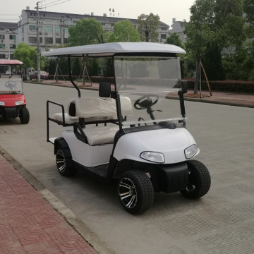 import 4 person e-z-go golf cart with gas or battery power