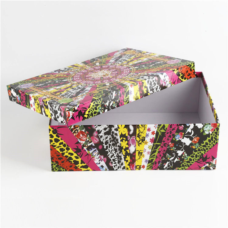 Custom Printed Shoe Box
