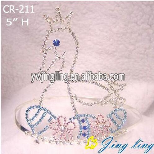 Custome Cheap Duck Swan Shape Crown For Easter