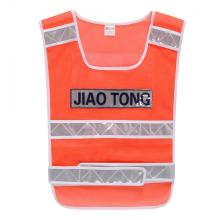 Mesh safety warning vest for labor market