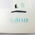 white cardboard custom wig packaging box