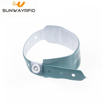 RFID NTAG216 Disposable PVC Wristband