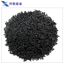 Coal columnar activated carbon in gas power plant