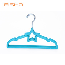EIHSO Best Star Blue Velvet Hangers