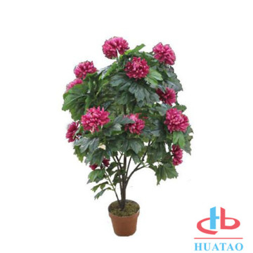 Wholesale Mini Artificial Potted Plants Plastic