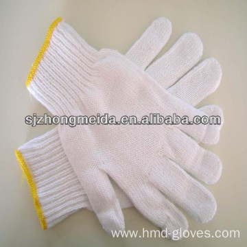 high quality industry cheap cotton string gloves