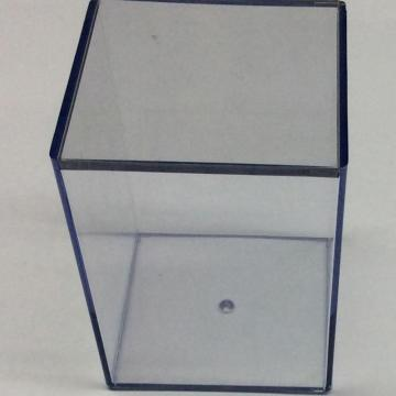 Plastic display storage box