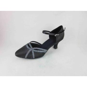 1 inch heel black dance shoes